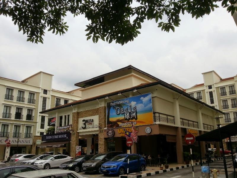 3rd Mile Square Ground Floor Shop for rent, Old Klang Road