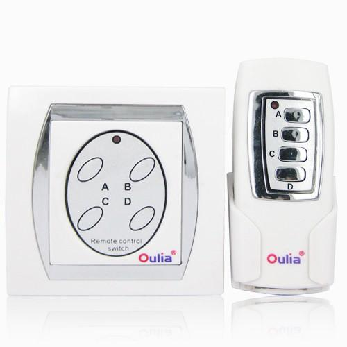 4-channel Digital Wireless Remote Control Switch with High Quality