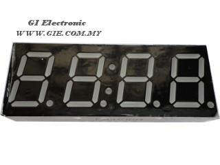 4 Digits with Time (Common Anode)