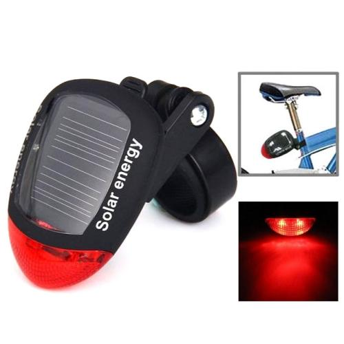 4 Flash Mode Available Solar Energy Rechargeable Bicycle Tail Light