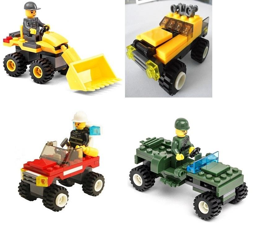 4 Sets Compatible Lego Educational Toys