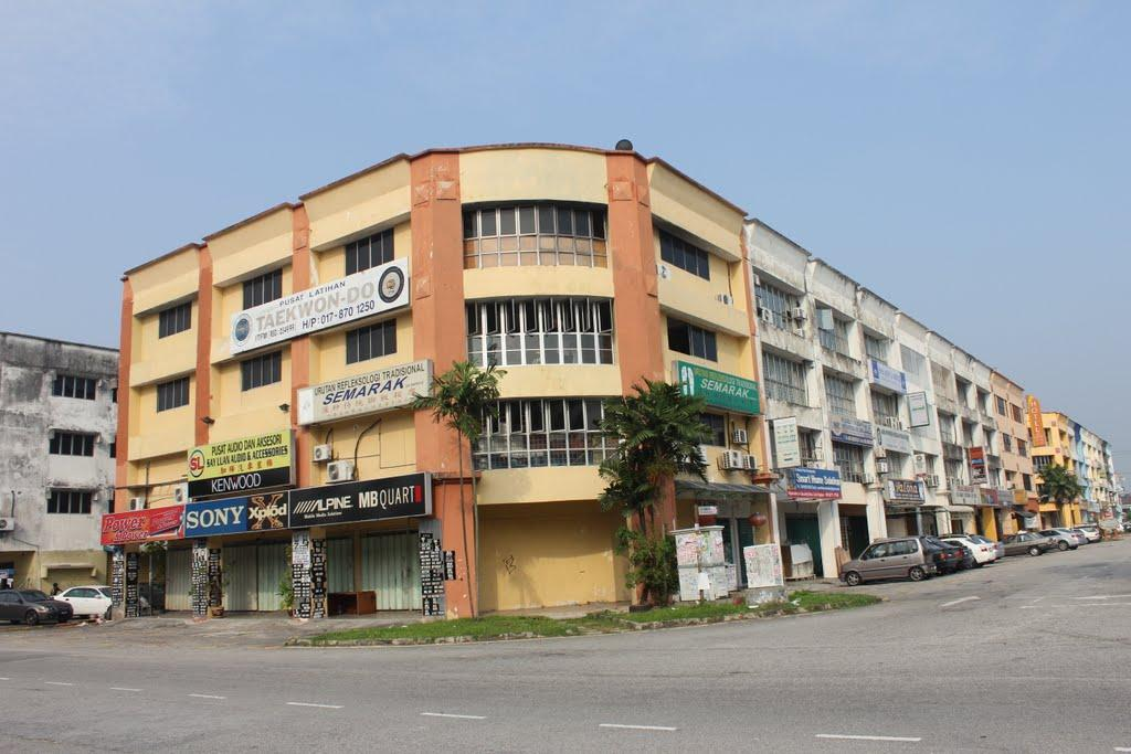4 Sty Shop office for sale, Pusat Bandar Puchong, Fully Tenanted, F/H