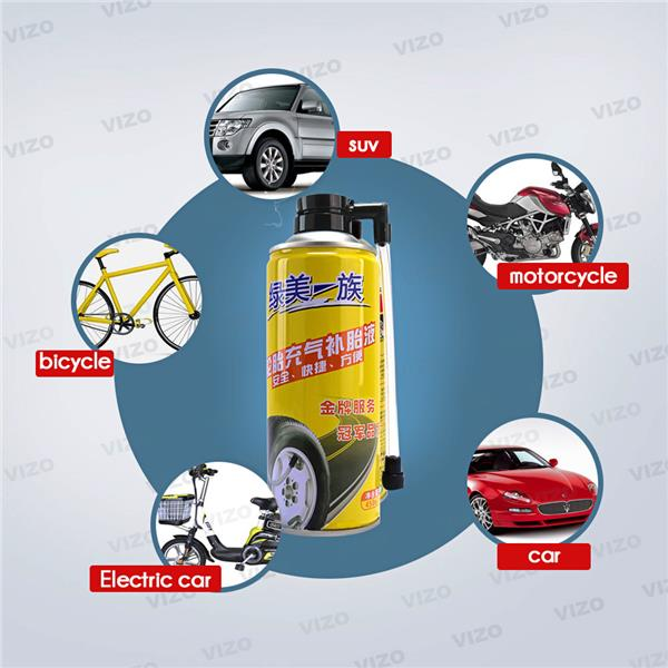 450ml Car Tyre Sealer And Inflator Repair Tool Auto Care Accessories