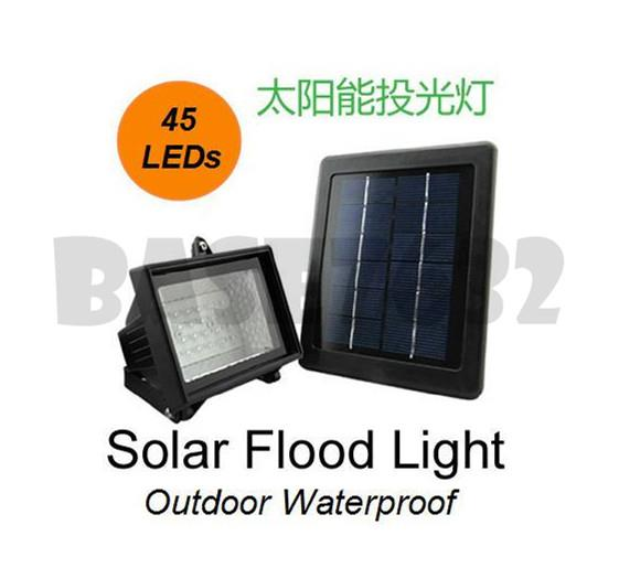 45led 45 Waterproof Solar Floodlight Flood Light Spot Light Led