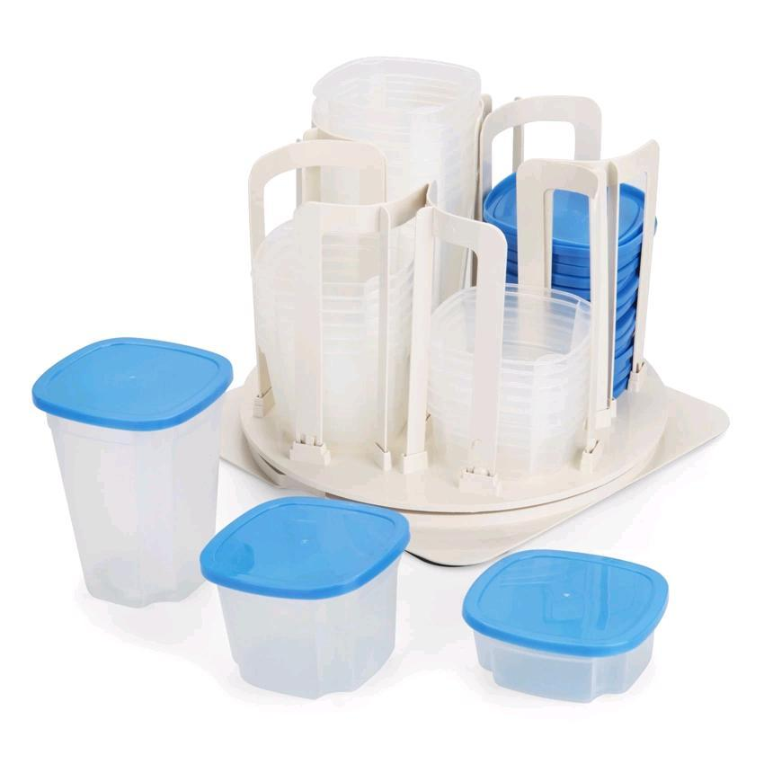 49 Pieces Set Storage Spinner