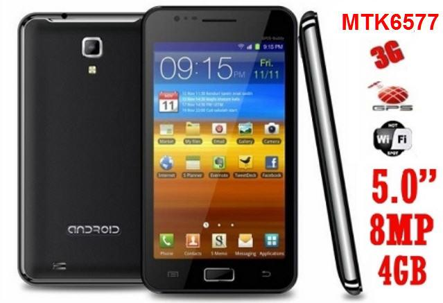 5.0 Inch MTK6577 Android 4.0 Smart Phone (WP-N9770) !