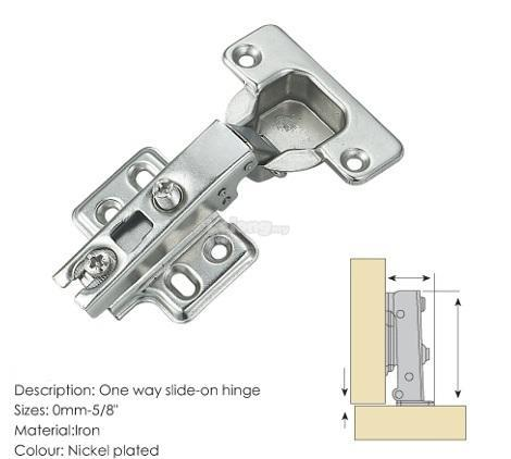 5/8' Cabinet Soft Close Conceal Hinges