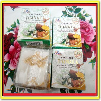 5 PCS ~~ K BROTHER SOAP JASMINE & HONEY