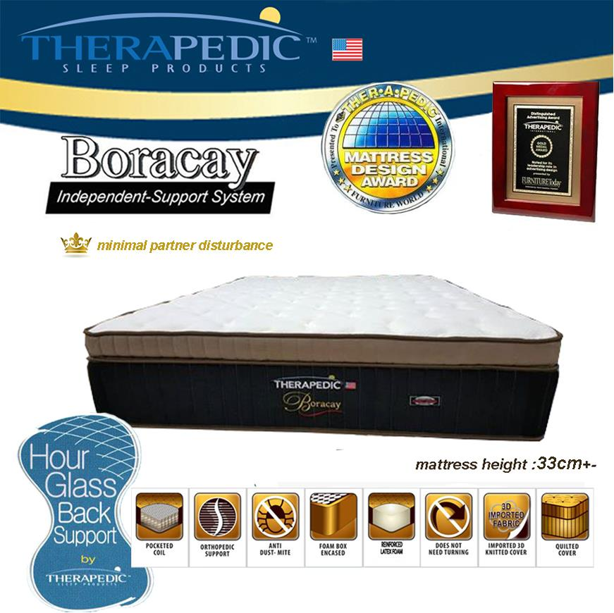 5' Queen Aerofoam THERAPEDIC Boracay Spring Mattress | Tilam