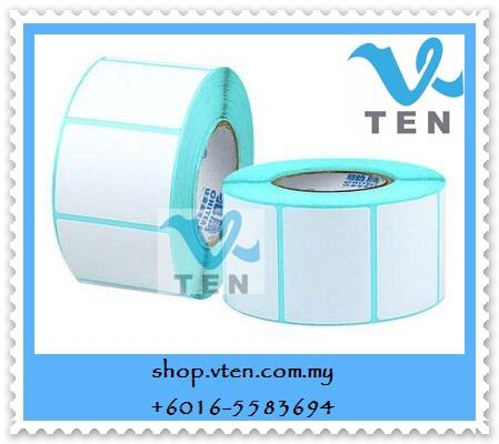 50*30mm Thermal Barcode Label Sticker 800pcs/roll 50x30mm