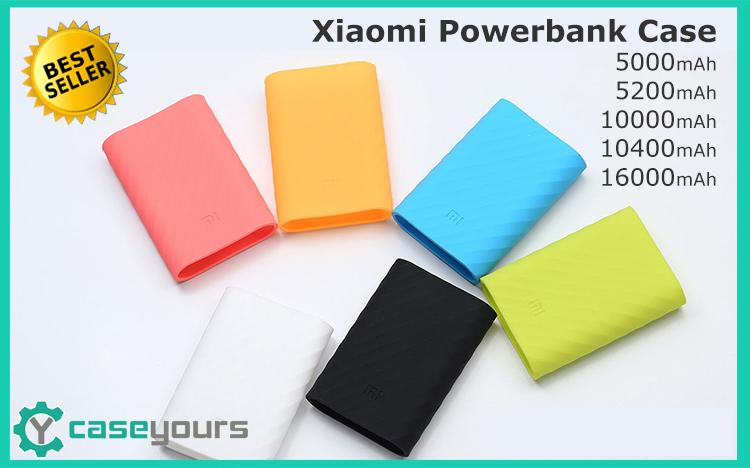 5000 10400 16000 mAh Xiaomi Mi Power Bank Powerbank Case Cover