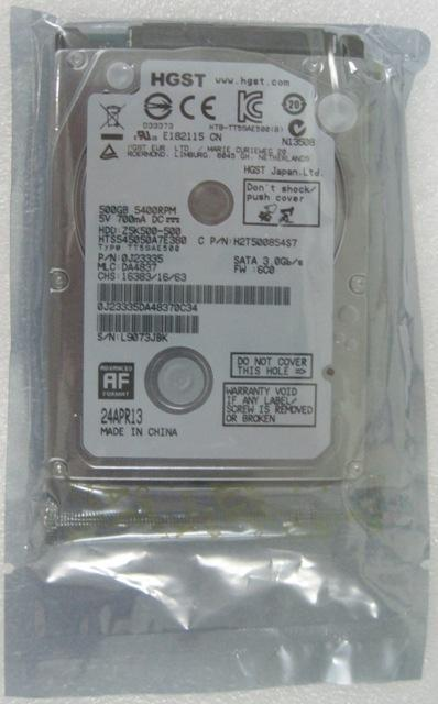 NEW 500Gb laptop SATA hard disk / 2'5 inch hard drive / notebook 500GB