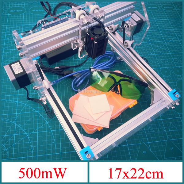 500mW Desktop DIY Violet Laser Engraver Machine Picture CNC Printer