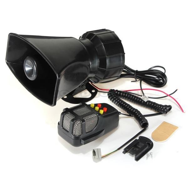 50W 12V Car Truck Speaker Loud Siren Horn Ambulance Police Alarm 105db