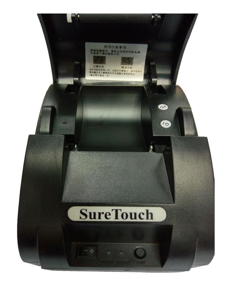 58mm Thermal Receipt Printer with Free 2 Rolls Thermal Paper