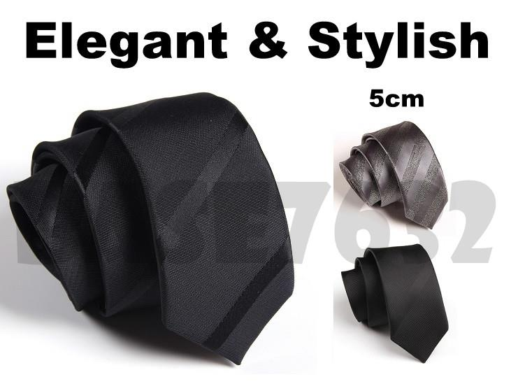 5cm  Man Men Tie Stylish Dark Stripe Tie Ties Necktie Neck ties 1696.1