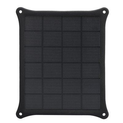 5W Portable Monocrystalline Solar Panel Charger - IP55 Weatherproof, S