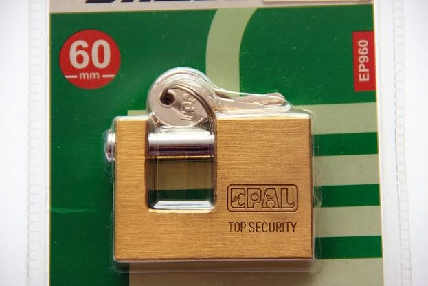 60mm BRASS Padlock