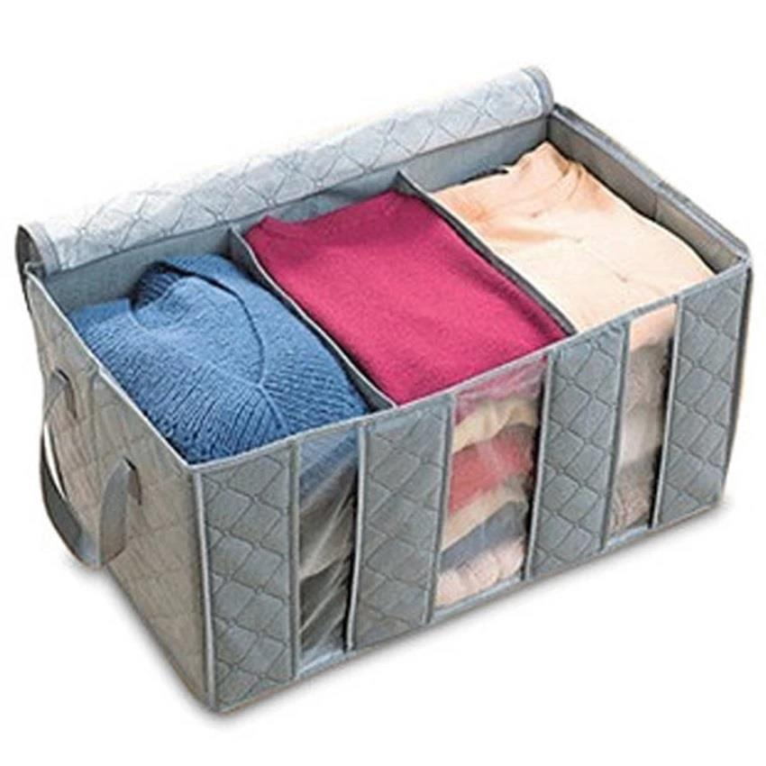 65L Bamboo Charcoal Clothes Storage Bag