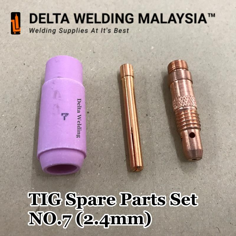 No.7 (2.4mm) TIG Torch Welding Parts Malaysia