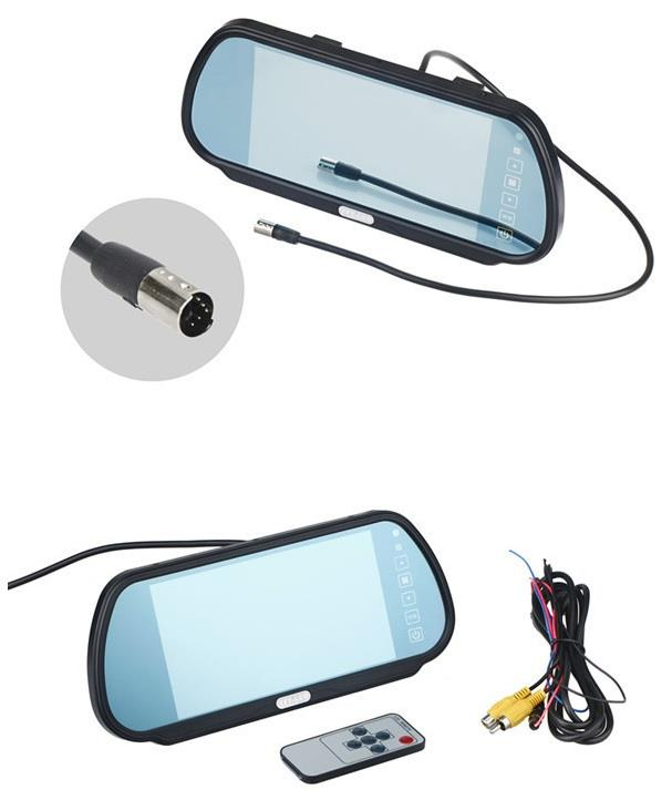 7 inch LCD car rearview mirror monitor Reverse Camera