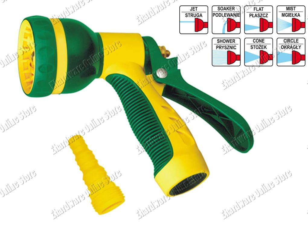 7 Spray Patterns Garden Spray Gun (W0632)