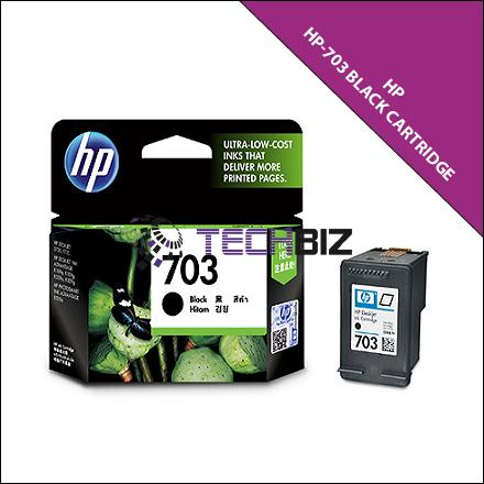703 BLACK HP INK CARTRIDGE