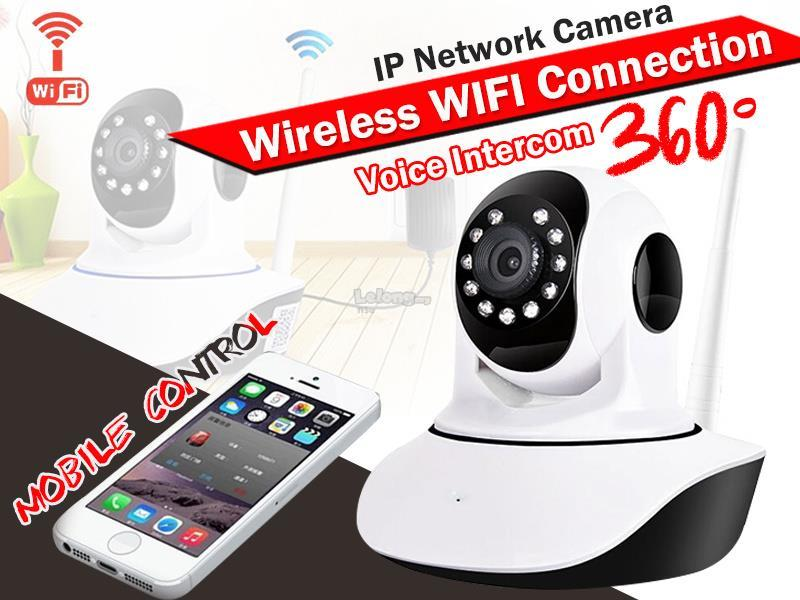 720/960P Wireless Intercom CCTV IP Camera *HD Vision Dual Antenna*