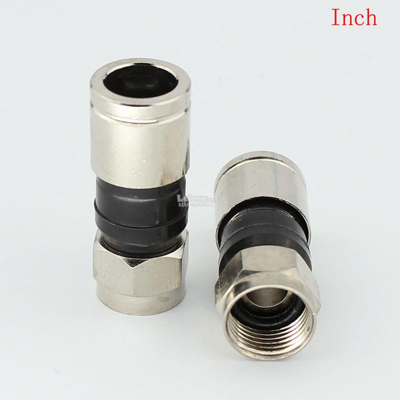 75-5 RG6 COPPER WATERPROOF F CONNECTOR