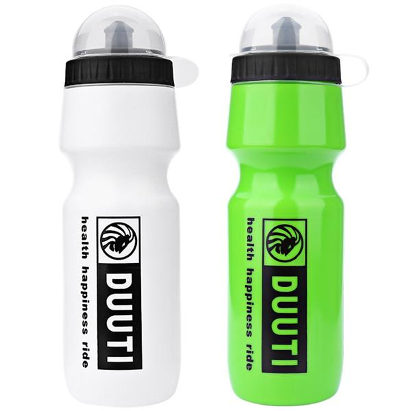 750ML DUUTI PORTABLE OUTDOOR BIKE CYCLING SPORTS DRINK (WHITEGREEN) Wh