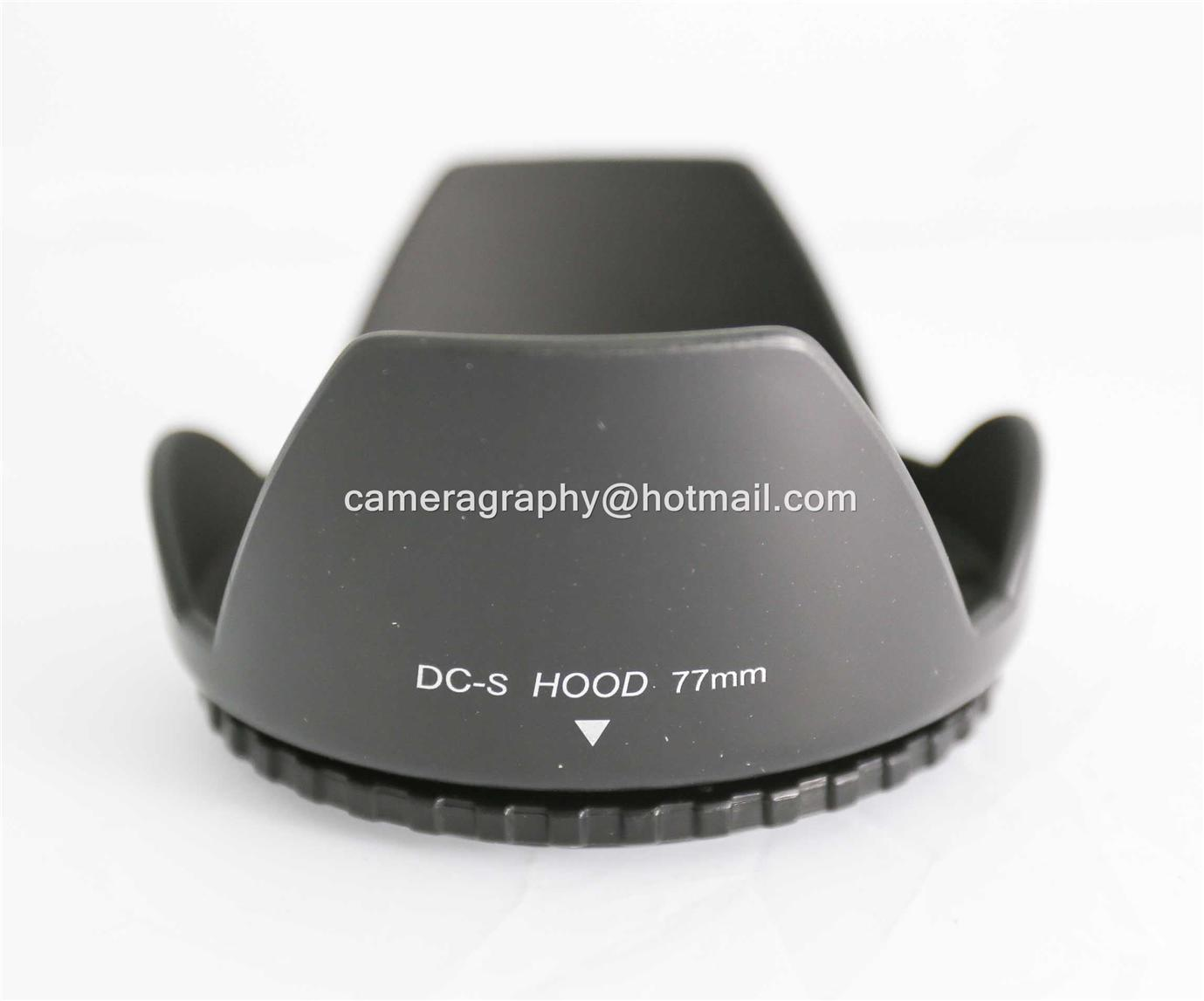 77mm Screw Mount Flower Lens Hood