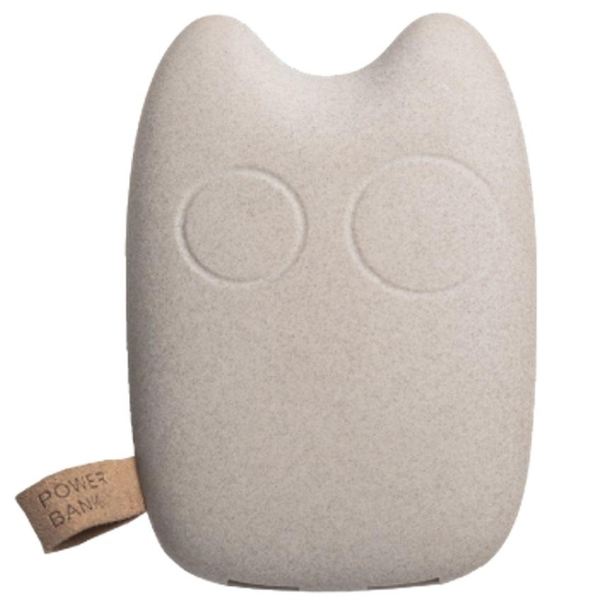 7800mAh Owl Story Powerbank - White