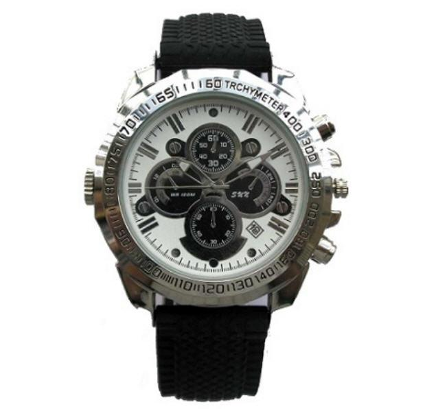 8 Designs Night Vision Watch Camera + 16GB Memory (WCH-17-16GB).
