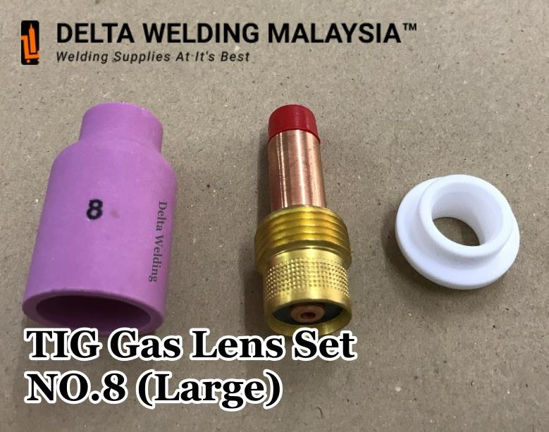 No.8 TIG Large Gas Lens Welding Malaysia Parts