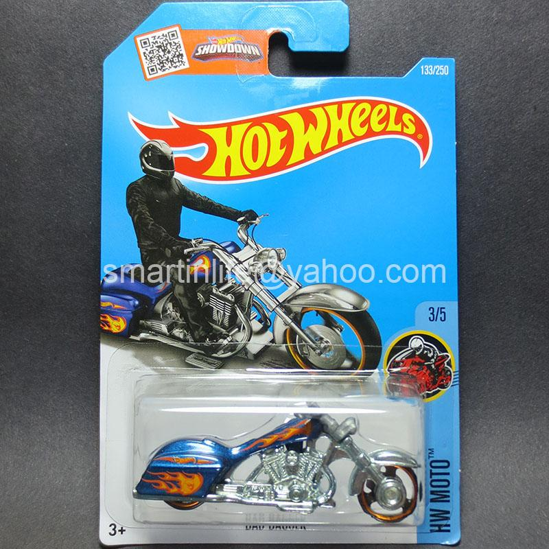 ‪‎Hot Wheels Bad Bagger (Blue) #3/5 ***Treasure Hunt