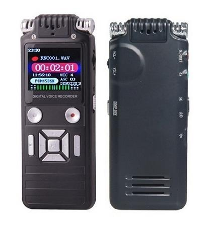 8GB Dual Microphone Voice Recorder (WVR-10)▼