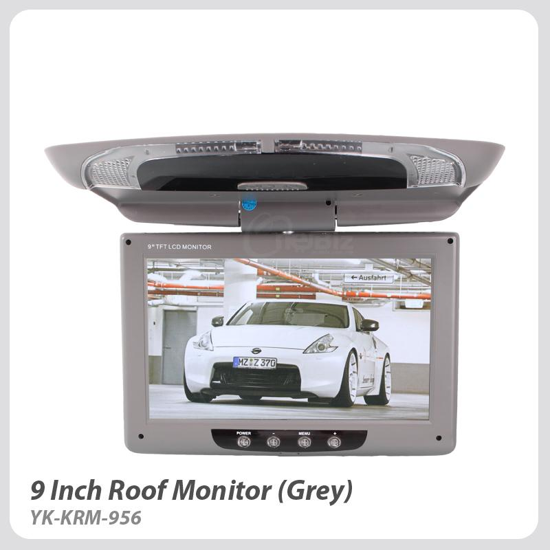 9 Inch Roof Monitor - Grey