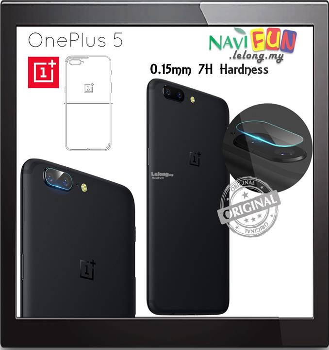 ★ OnePlus 5 / 1+5 / One Plus 5 Back Camera 7H Tempered Glass