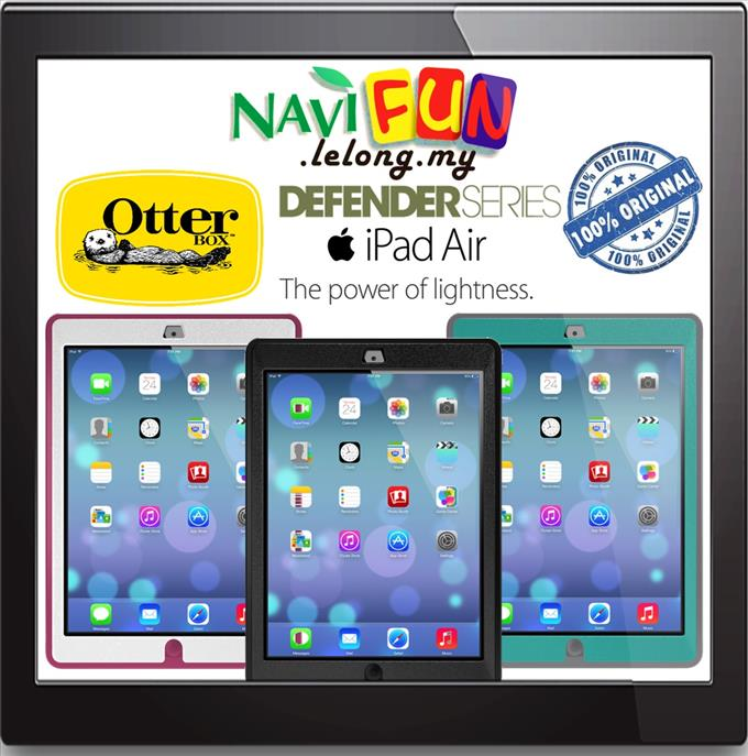 ★NEW! ORI. OtterBox Defender Series for iPad Air (Ready Stock)