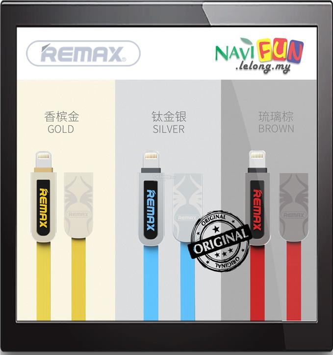 ★ REMAX 2-in-1 Lightning Micro USB Data Charge Cable RC-067t