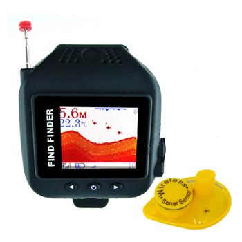 ★ Waterproof Watch Wireless Fish finder (WP-FF12)
