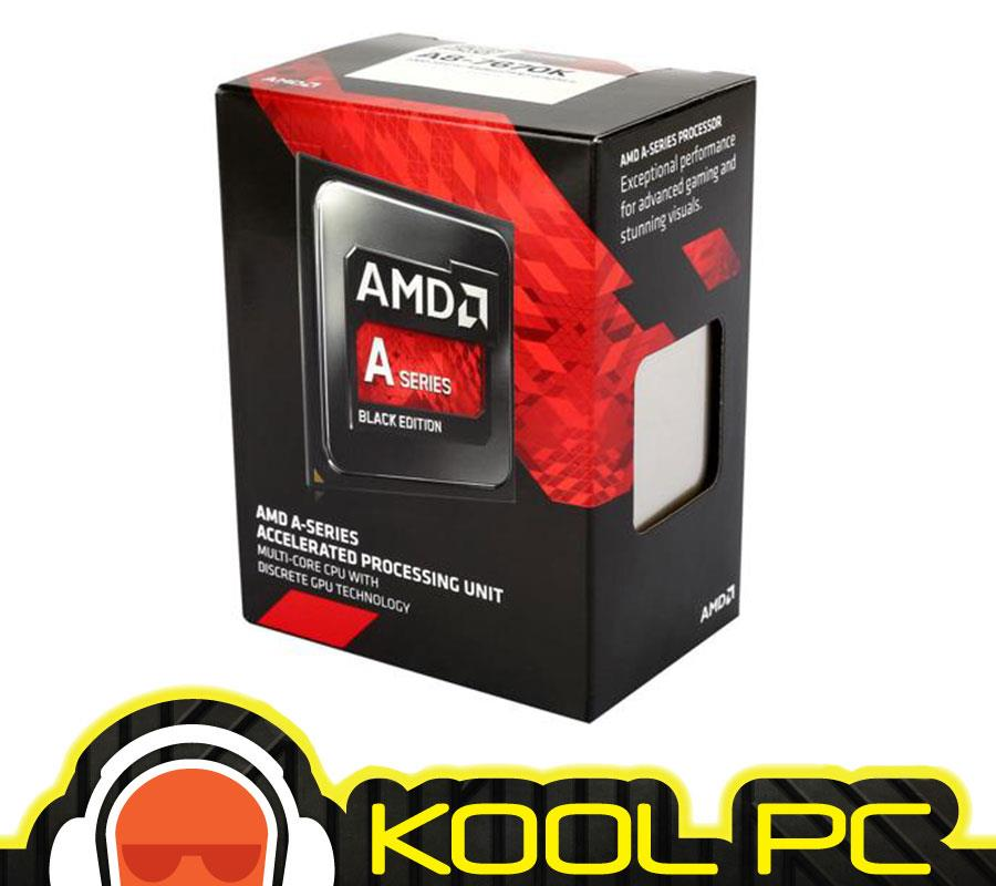 ☆ AMD Processor FM2+ A8-7670K 3.6GHz BLACK Edition (AD767KXBJCBO..