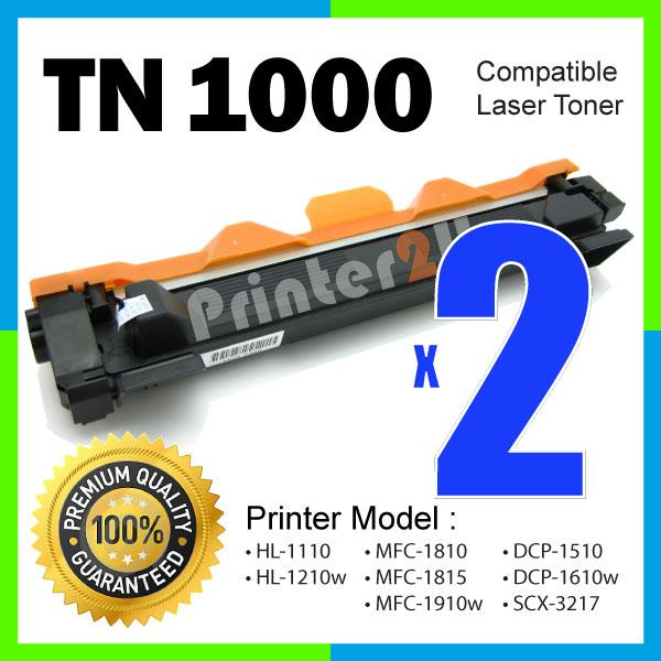 A1 TN1000/TN 1000 Compatoble Brother Laser HL 1110/DCP 1510/1512 Toner