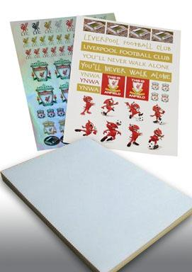 A4 Quality Simili Sticker  - 100 sheets