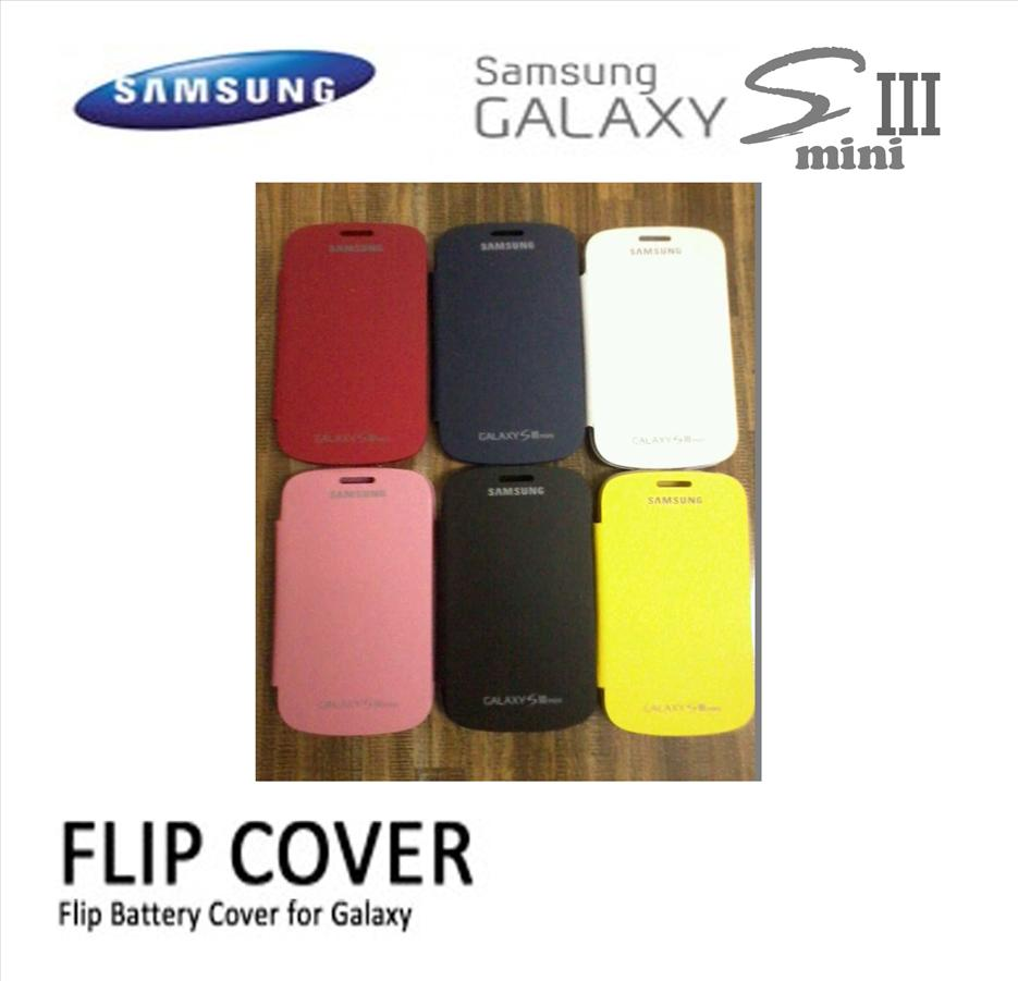 [A8] samsung galaxy S3 SIII mini I8190 flip case casing VARIETY COLOR