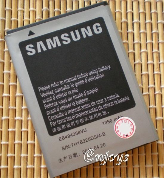 AA OEM Battery EB494358VU Samsung Galaxy Ace S5830 S7500 PLUS ~1350mAh