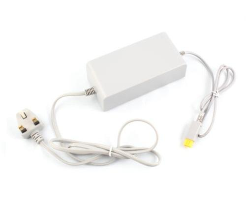 AC Power Adapter Charger for Nintendo Wii U Game Consoles (UK)