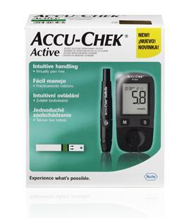 Accu-Chek Active Blood Glucose Meter (10 Free Strips)