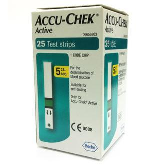 Accu-Chek Active Strips (25 Test Strips)