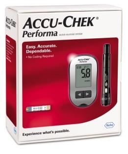 Accu-Chek Performa Meter II Free 25''s Test Strip